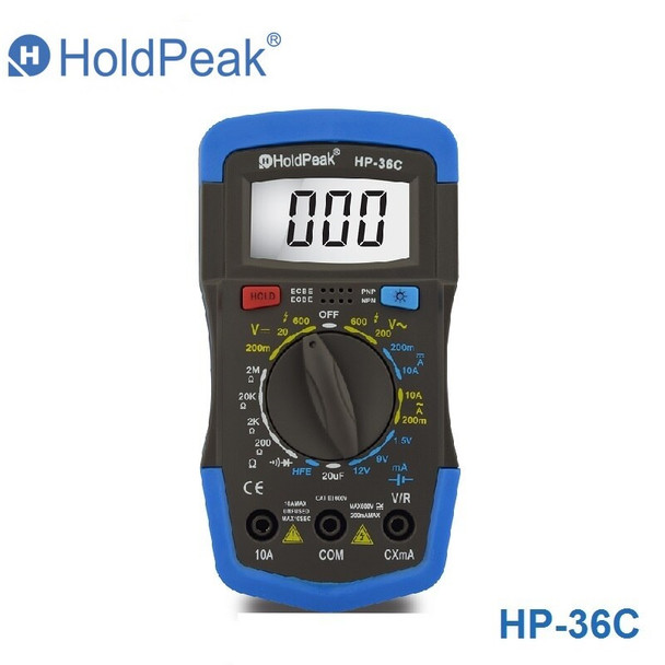 HOLDPEAK HP-36C Multimetro Digital Professional Multimeter