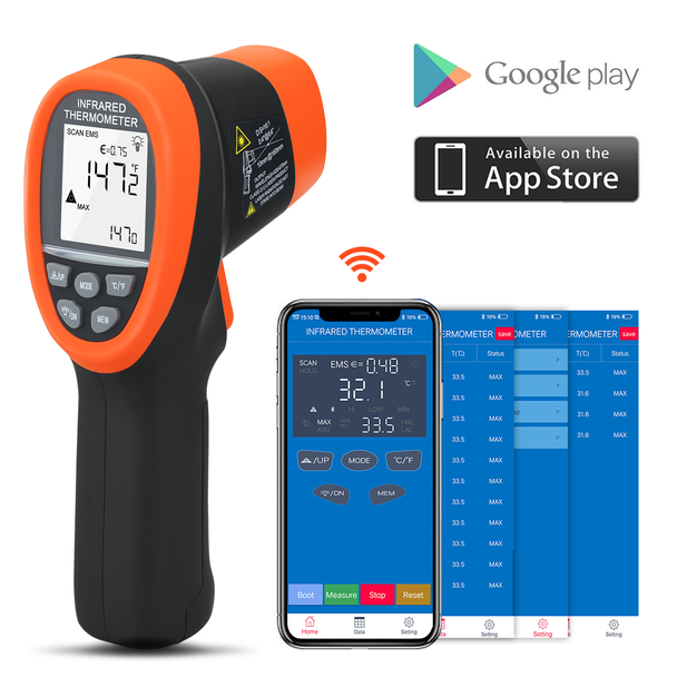 IR Infrared Thermometer Handhold