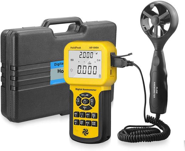 Digital Anemometer, Wind Speed Sensor