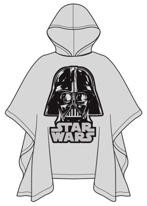 Star Wars Adult Poncho Raincoat  Darth Vader, Clear