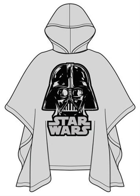 Star Wars Youth Poncho Raincoat  Darth Vader, Clear