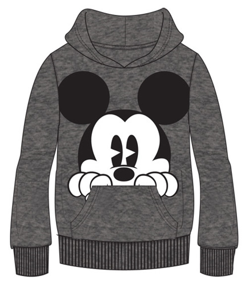 60% Cotton/40% Polyester Features Disney Mickey Mouse. Warm and Comfortable, Longer for a Fit Everyone Loves Fleece Hoodie with Front Pocket