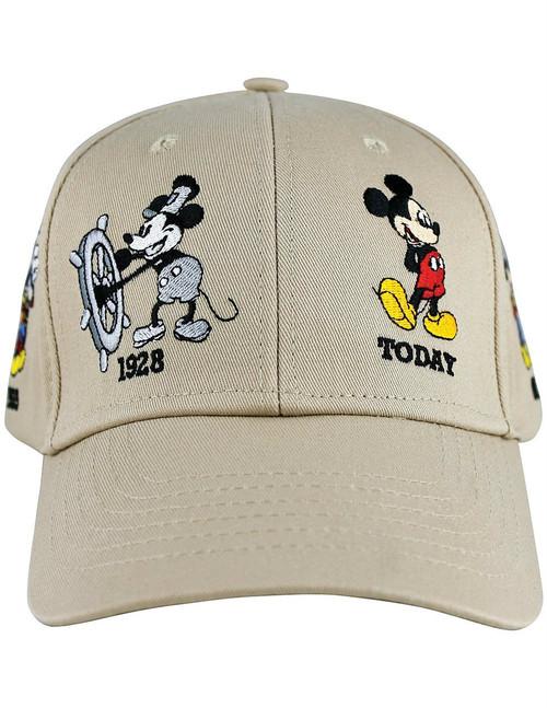 Disney Adult Hat Mickey Years, Khaki (Florida Namedrop)