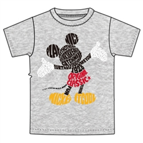Disney Men's Mickey Mouse Word Up Graphic T Shirt