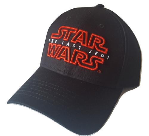 Star Wars Last Jedi Adult Hat, Black