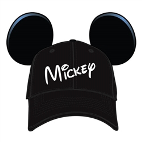 Disney Youth Hat Mickey with Ears, Black