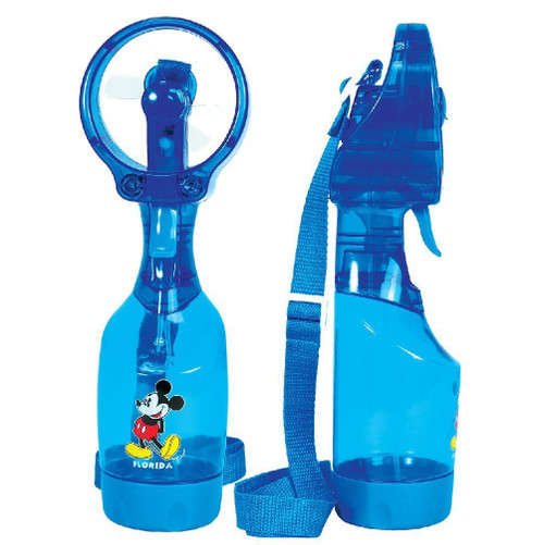 Disney Mickey and Minnie Mouse Personal Misting Fan, Blue