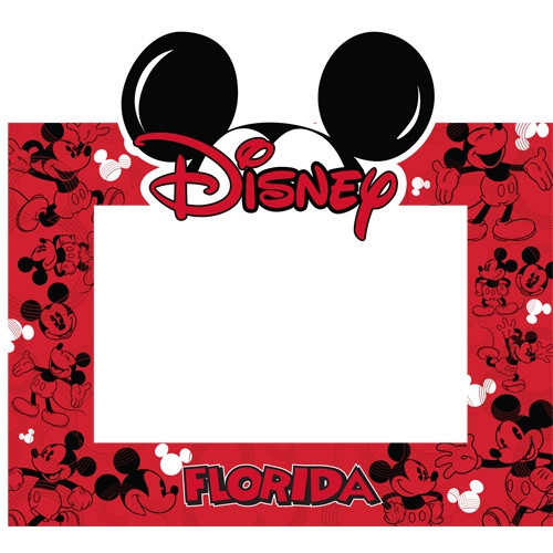 Disney Mickey Ears Picture Frame 4x6