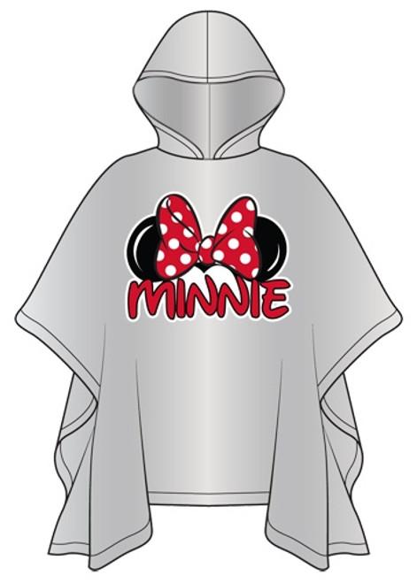 Disney Adult Minnie Family Rain Poncho