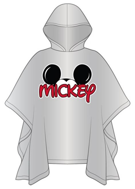 Disney Adult Mickey Family Rain Poncho