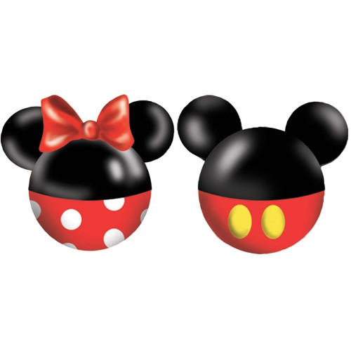 Disney Mickey Minnie body Salt & Pepper Shaker