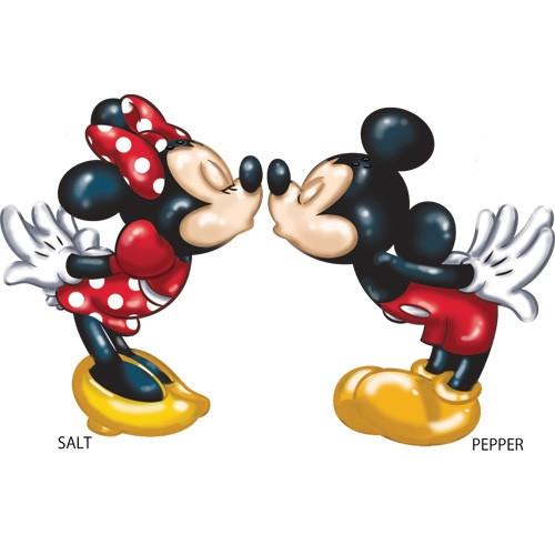 Disney Mickey and Minnie Spice of Life Salt & Pepper Shaker