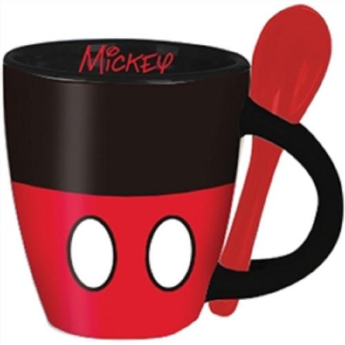 Disney Mickey Signature Shorts Espresso Cup with Spoon