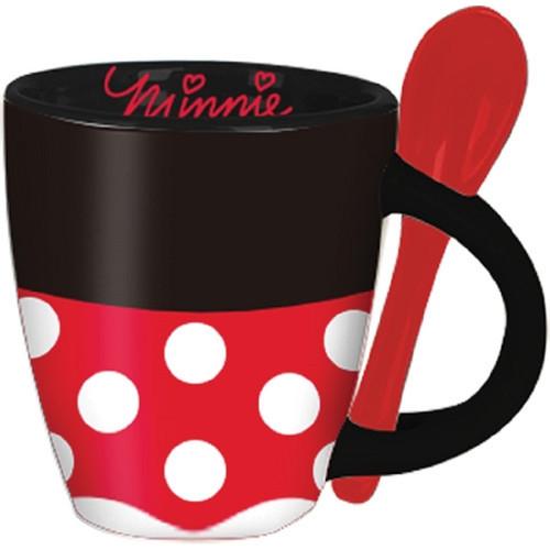 Disney Minnie Signature Dress Espresso Cup with Spoon