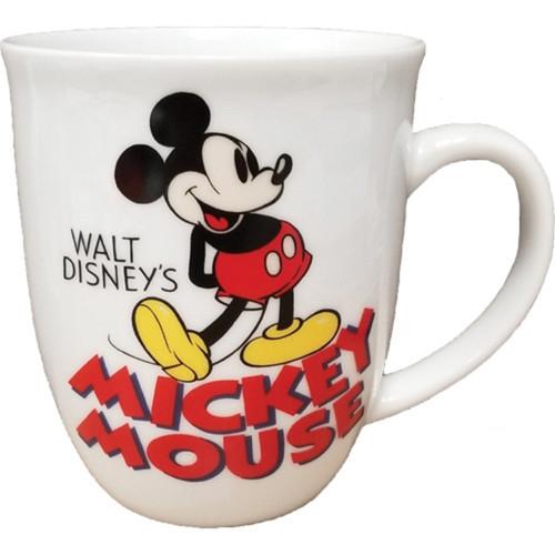 Disney Vintage Mickey 16oz Porcelain Mug