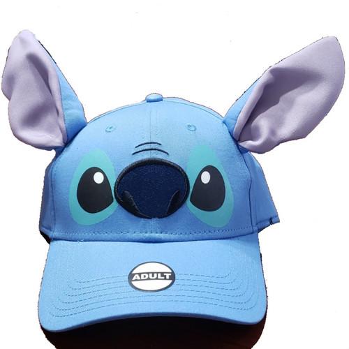Disney Adult Stitch Ear Hat, Blue