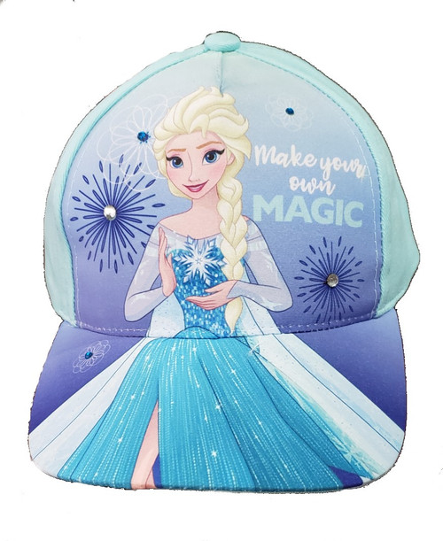 Disney Frozen Toddler Girls Magic Cap Sky Blue