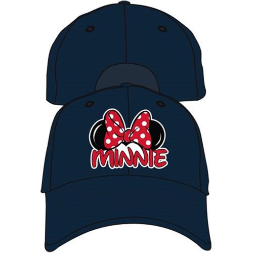 Disney Adult Minnie Fan Baseball Hat, Navy Blue