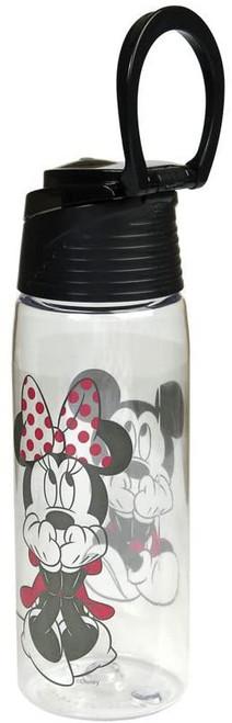 Disney Gazing Mickey Minnie Flip Top Water Bottle