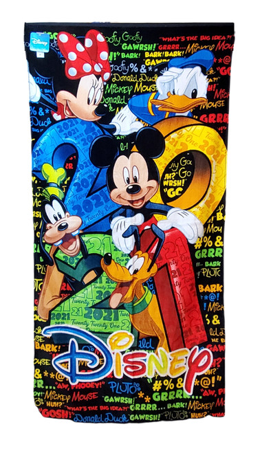 Disney 2021 Florida Mickey Mouse and Friends Beach Towel