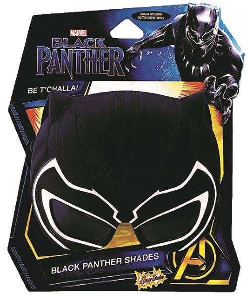 Black Panther Sunstache Sunglasses