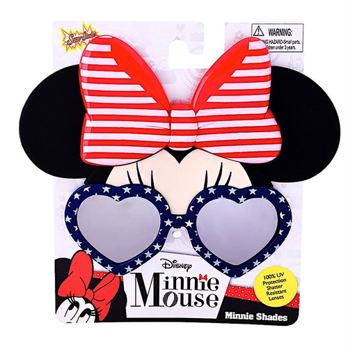 Americana Minnie Shades Sunstache Sunglasses