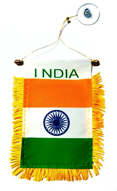 India - Window Hanging Flag