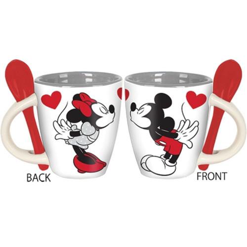 Disney Mickey n Minnie Espresso Spoon Mug