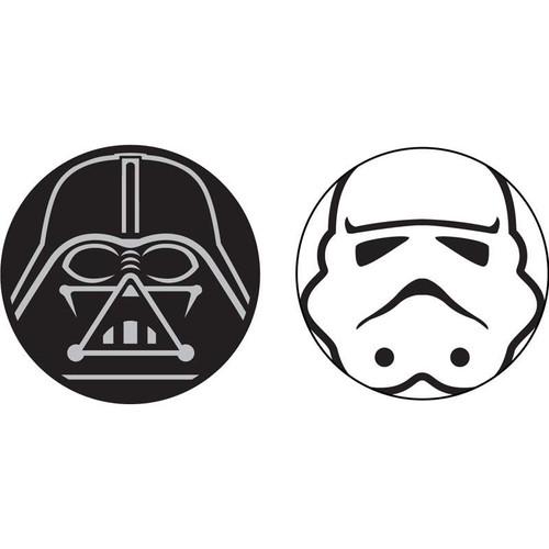 Star Wars Darth Vader Storm Trooper Antenna Topper - 2 pack