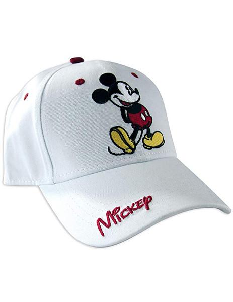 Disney Adult Classic Mickey Hat, White