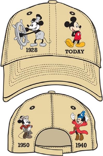 Disney Adult Hat Mickey Years, Khaki