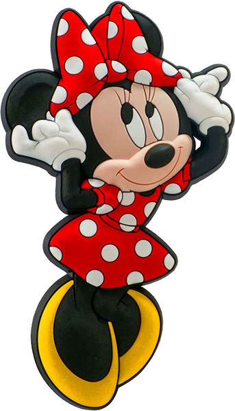 """Disney Minnie Soft Touch Magnet,Multi-colored,4"""""""