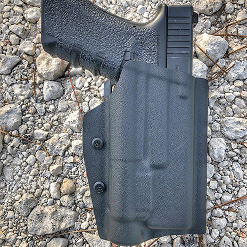 Light Bearing Holster with Paddle