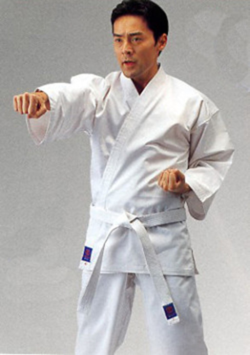BUDO WHITE NZ MADE KARATE UNIFORM