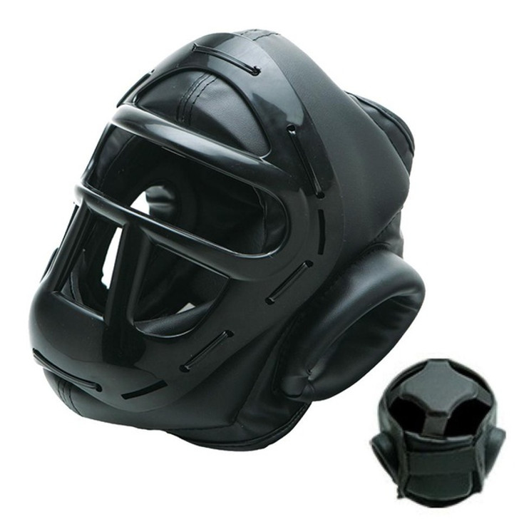 HEADGEAR WITH FACE CAGE