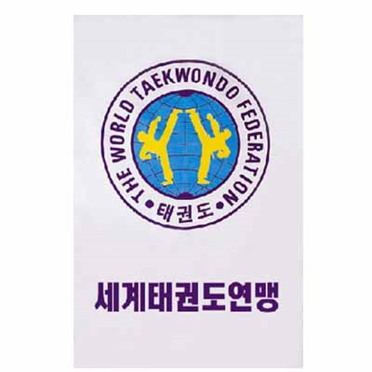 WORLD TAE KWON DO (WTF) FEDERATION FLAG