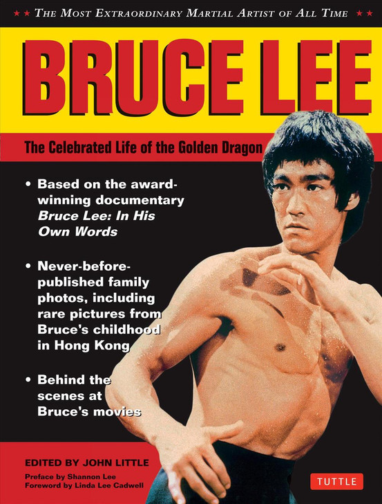 Bruce Lee : The Celebrated Life of the Golden Dragon (hard back)