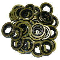 Renault 8200641648, Nissan 11026-00QAA, Peugeot  Citroen 164.88, Ford 6835866 - SW4 Pack of 50 OE Replacement Sump Washers