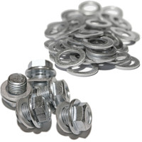 Honda - MAXI PACK - 5 Sump Plugs & 50 Sump Washers - MP30 - 90009-PH1-000