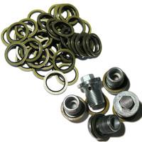 Vauxhall / Saab / GM / MAXI PACK - 5 Sump Plugs & 50 Sump Washers 93183669 93183670 - MP14