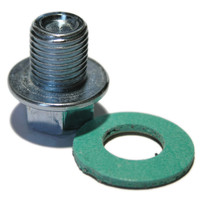 SP10WSG Steel Sump Plug and Fibre Washer