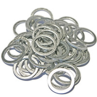 Sump Plug Washers for Volvo and Porsche - Pack of 50, ideal for the workshop or garage.