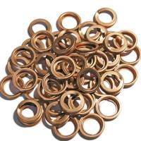 Copper Folded Washers 11 x 17 x 3 mm