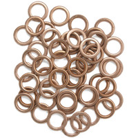 Pack of 50 Washers for Citroen and Peugeot Sump Plugs - Ideal for the workshop/garage.