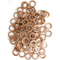 Nissan Copper Compression Sump Washers OE 11026 01M02 - 100 pack
