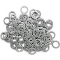 Aluminium Oil Drain Sump Plug Washer for Honda,  Rover,  Land Rover and MG vehicles - 100 pack