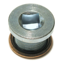 Oil Drain Sump Plug with Washer -  Thread Size: M16 x1.5 Thread length: 12.5mm Overall length: 16.5mm