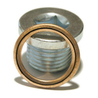 Sump Plugs for Peugeot  / Citroen,  Renault, Dacia, Nissan and Volvo with copper filled washer.
