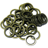 Vauxhall and Saab 93183670, Opel 0652 543 - SW14x50, 50 Pack of OE Replacement Bonded Seal Sump Washers
