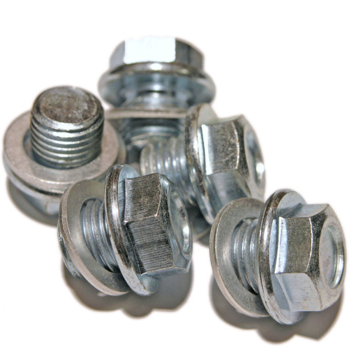 Honda Part Number 90009-PH1-000, SP30Wx5 - 5 Pack of Sump Plugs and Washers, OE Replacement